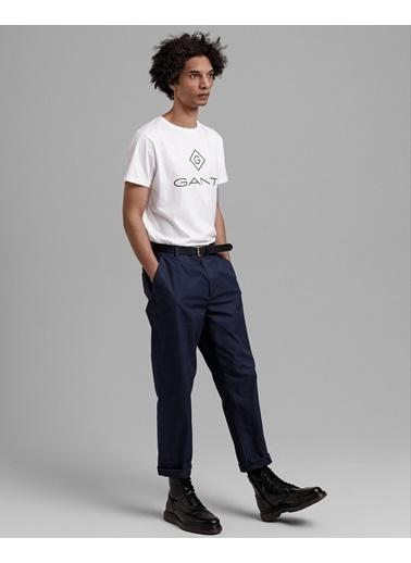 Gant Erkek T-Shirt Beyaz